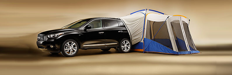 For the truly adventurous the hatch tent is an innovative way to experience the great outdoors. It attaches to the QX60u0027s rear hatch making it easy to ... & Best Accessories for the INFINITI QX60
